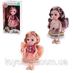 Лялька 65001B (72шт 2) 3 види,шарнірна,в кор.11*6*20 см, р-р іграшки – 16 см