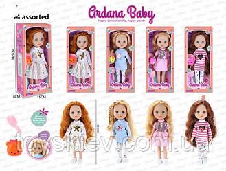 Лялька A713 (48шт 2) 4 види, гребінець,іграшка,в кор.34,5*8*15 см