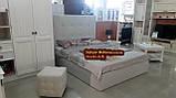 Двуспальная кровать с мягким изголовьем 1670х2200мм, фото 2