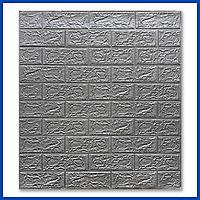 Декоративні 3д 3D панелі для стін під Цеглу 700*770*5мм самоклеючі панелі для ванної спальні самоклейка