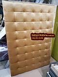 Стеновая панель, изголовье кровати бархат, фото 2
