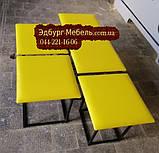 Смарт пуф, смарт меблі , пуф жовтий, фото 3