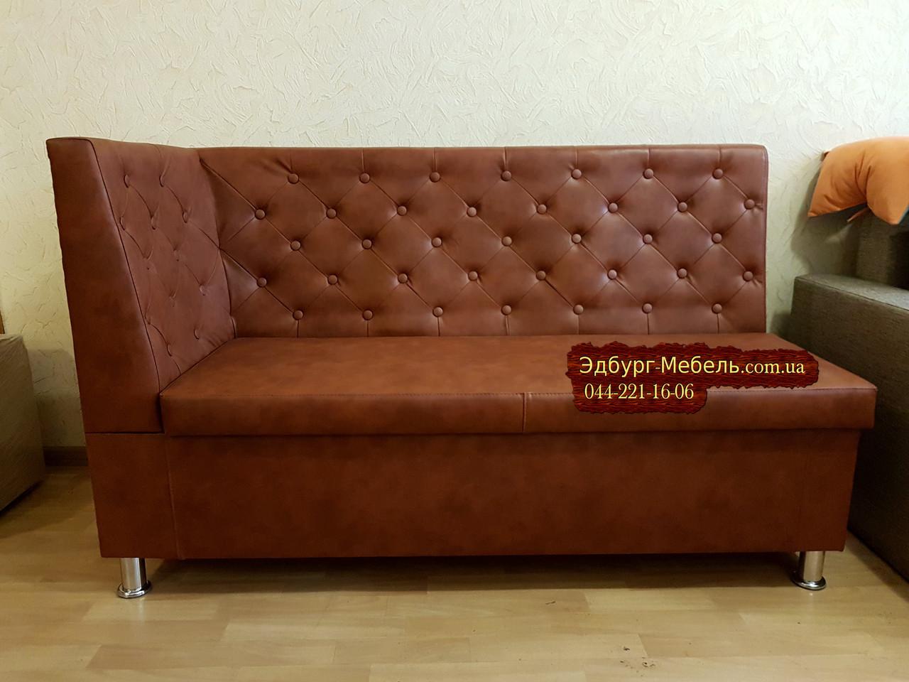 Кухонний диван, лавка з скринькою Ренесанс 150х60см