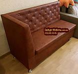 Кухонний диван, лавка з скринькою Ренесанс 150х60см, фото 2
