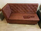 Кухонний диван, лавка з скринькою Ренесанс 150х60см, фото 4