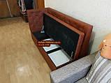 Кухонний диван, лавка з скринькою Ренесанс 150х60см, фото 7