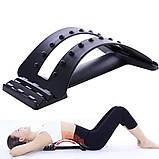 Массажер-мостик для спины и позвоночника Back Magic Support № K12-18, фото 4