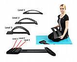 Массажер-мостик для спины и позвоночника Back Magic Support № K12-18, фото 10