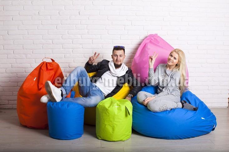 Крісло мішок груша | червоний Oksford