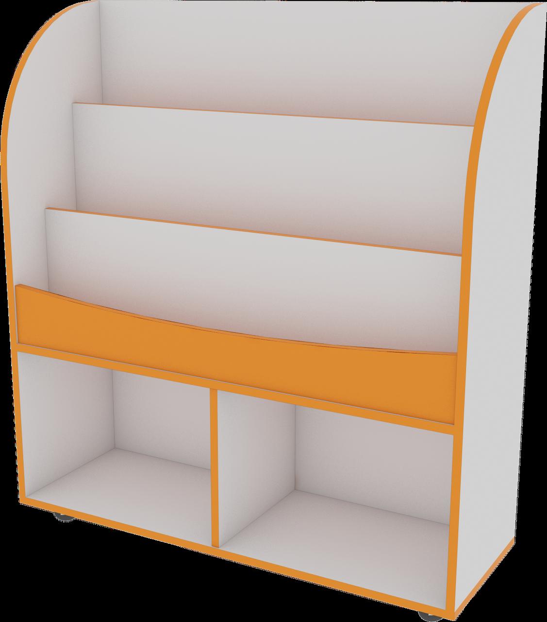 Виставковий стенд для дитячих книг, меблі