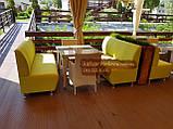 Диван для кафе на 3 человека 160х65х90см, фото 6