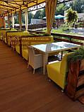 Диван для кафе на 3 человека 160х65х90см, фото 9