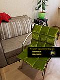 Подушка на стул, кресло, диван на заказ, фото 5