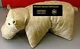 Подушки Бегемотик 3 для мягкой мебели декоративные, фото 3