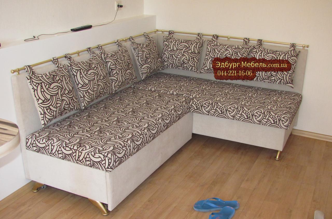 Кухонний куточок зі спальним місцем Велюр антикоготь
