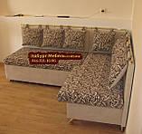 Кухонний куточок зі спальним місцем Велюр антикоготь, фото 2