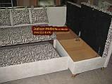Кухонний куточок зі спальним місцем Велюр антикоготь, фото 6