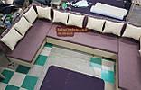 Кухонный уголок с двумя углами П со спальным местом, фото 2