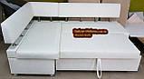 Кухонный уголок «Экстерн» раскладной 120х1800 светлый беж, фото 5
