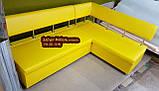 Кухонный уголок «Экстерн» раскладной 120х1800 светлый беж, фото 8