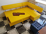 Кухонный уголок «Экстерн» раскладной 120х1800 светлый беж, фото 9