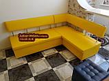 Кухонный уголок «Экстерн» раскладной 120х1800 светлый беж, фото 10