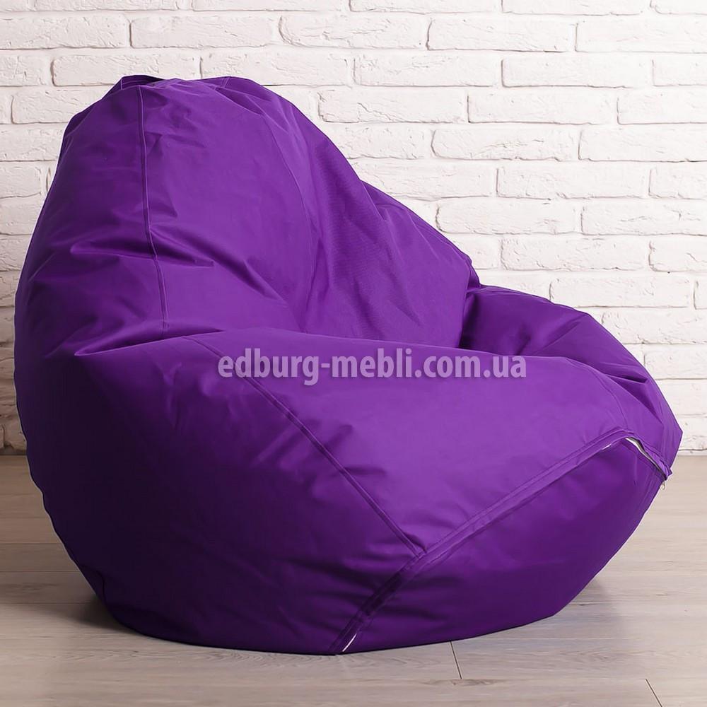 Кресло мешок груша Большой   фиолетовый  Oxford