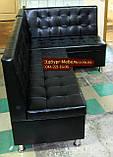Кухонный уголок Пегас Квадро черный, фото 6