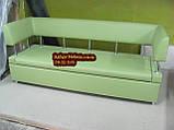 Диван с боковыми спинками и спальным местом, фото 7