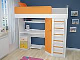 Мебельный комплект с угловым шкафом, Детская мебель, фото 6