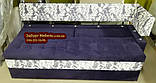 Диван для кухні Екстерн зі спальним місцем тканина антикот, фото 6