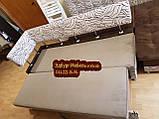 Диван для кухні Екстерн зі спальним місцем тканина антикот, фото 5