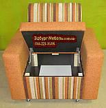 Крісло на коліщатах з ящиком, фото 3