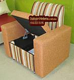 Крісло на коліщатах з ящиком, фото 4