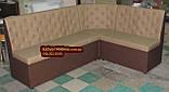 Кухонний диван Ренесанс-Бежевий 1500х2000мм, фото 2