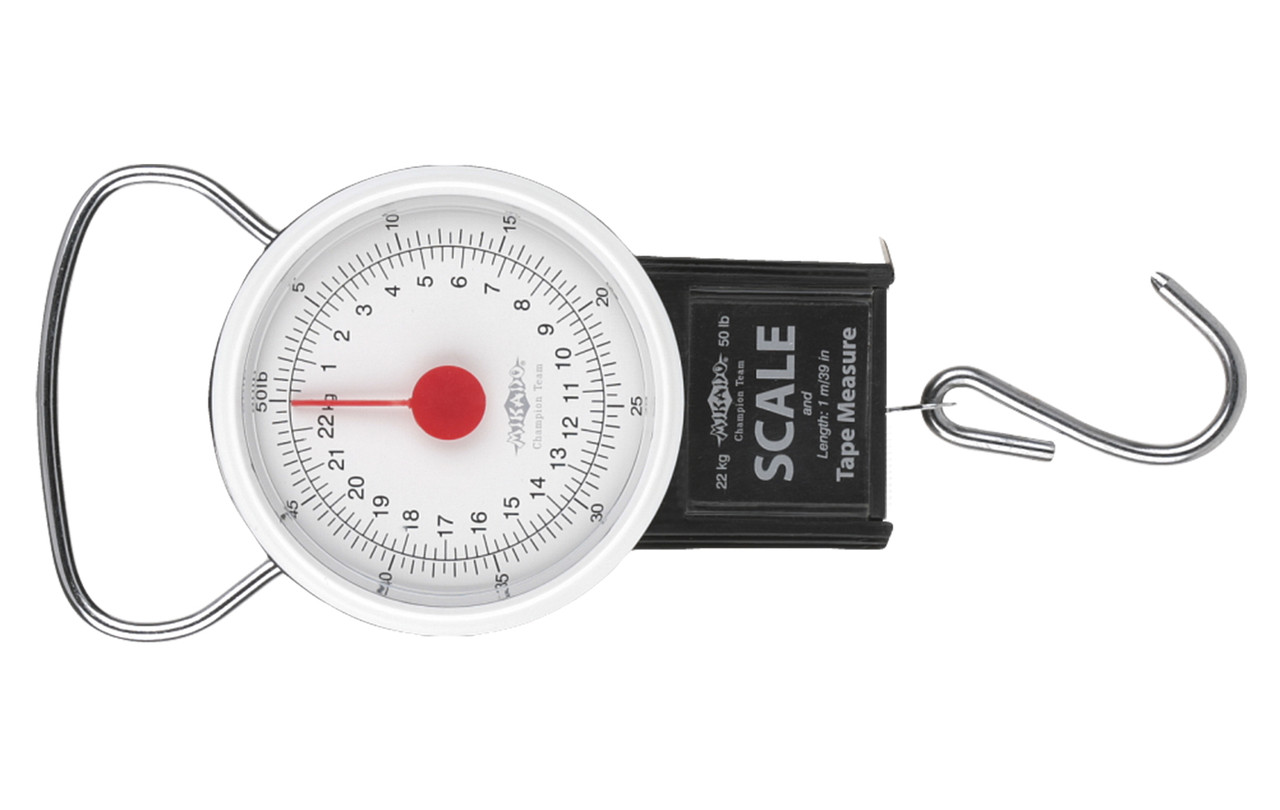 Весы Mikado 22кг круглые + рулетка Classic