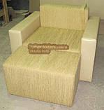Кресло со спальным местом и приставным пуфом, фото 2