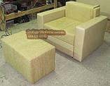 Кресло со спальным местом и приставным пуфом, фото 3