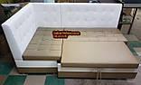 Кухонний куточок зі спальним місцем дельфін 1100х1800мм, фото 3