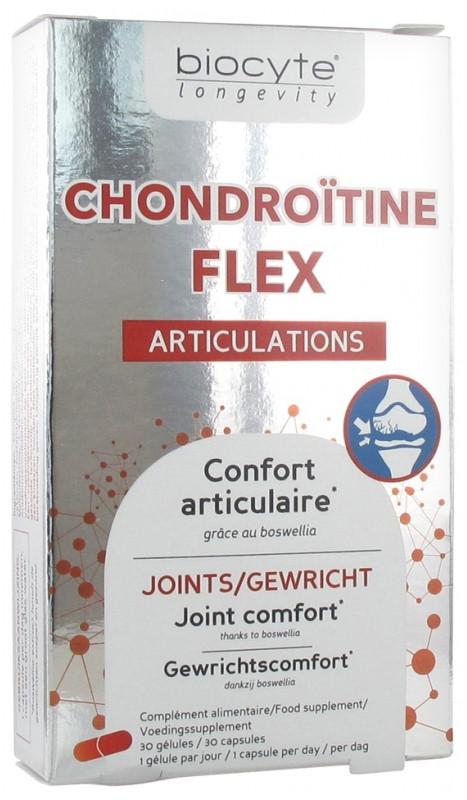 Комплекс для комфорту суглобів Biocyte Longevity Chondroïtine Flex Articulations 30 капсул