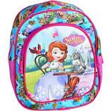 Маленький детский рюкзачок для девочки Принцесса Smile для детского сада, дошкольный рюкзак от 3, фото 2