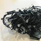 Новорічна світлодіодна гірлянда нитка кристал 300 LED мультик. Святкове освітлення для будинку і вулиці, фото 4