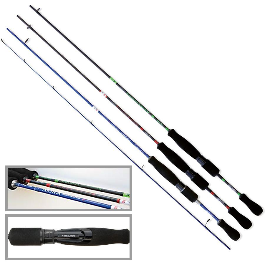 Спиннинг Nomura AKIRA TROUT AREA BLUE 1.95м  1.5-5гр. TUBULAR TIP