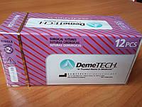Шовный материал DemeQuick 2/0, 36 мм колющая игла 1/2 окружности, нить 90 см