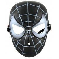 "Маска ""Людина Павук"" - Спайдер мен чорна"