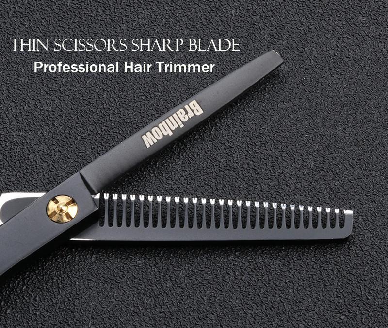 """Brainbow 5,5 """" дюймов 14см Филировочные ножницы для волос BHT045"""
