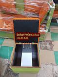 Пуф стёганный с ящиком, фото 2