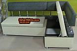 Кухонний куток на замовлення  - пуф в подарунок., фото 6
