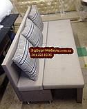 Вузький диван для кухні або офісу 1800х550х850мм, фото 4