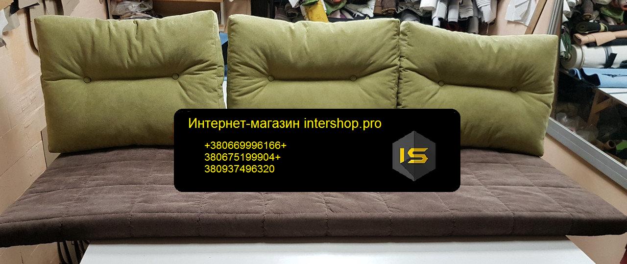 Матрац і подушки холлофайбер 2000х600мм